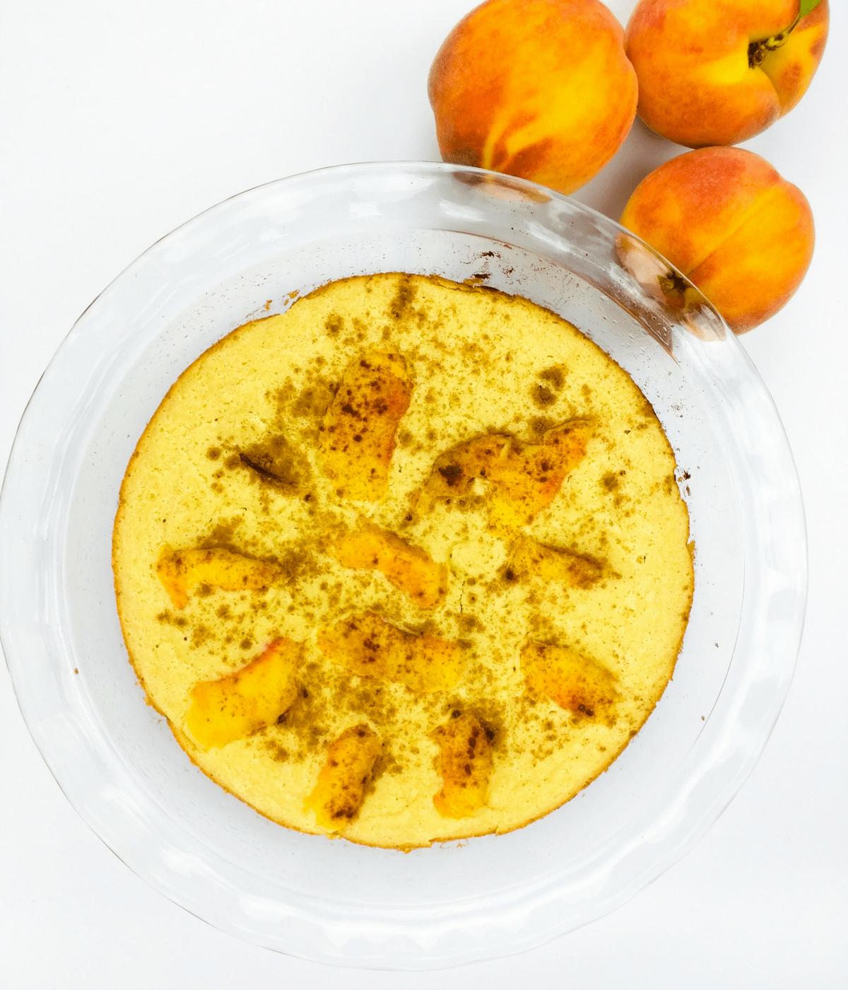 Peach Cobbler Pancake