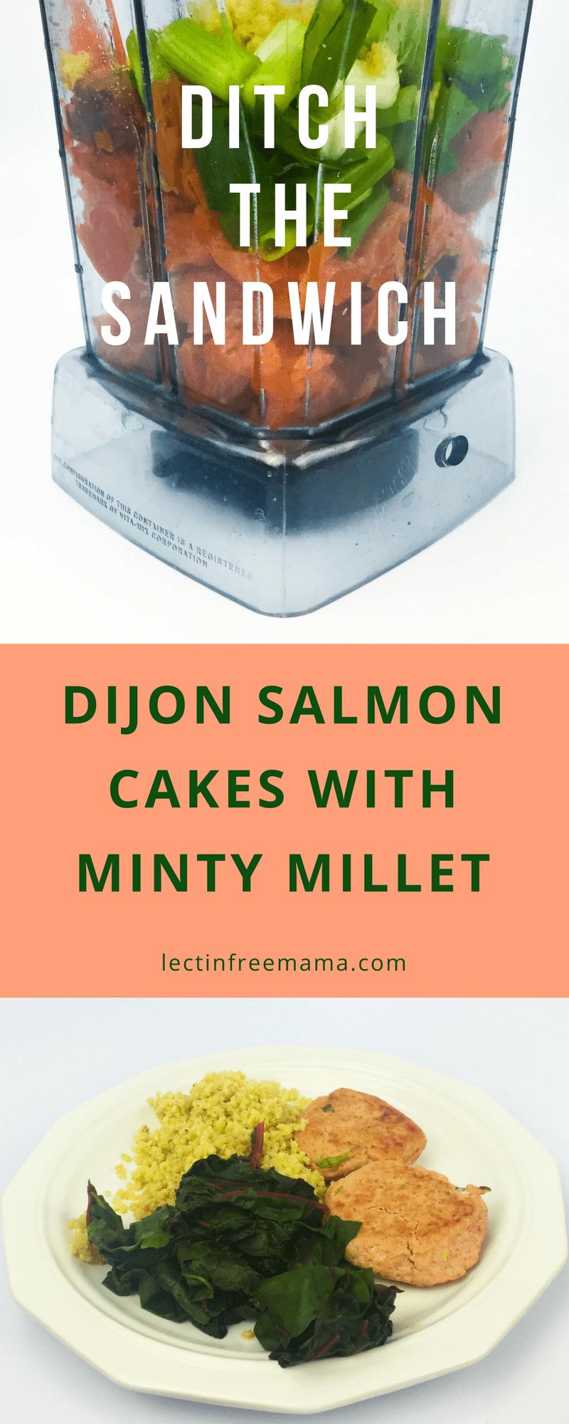 Dijon Salmon Cakes