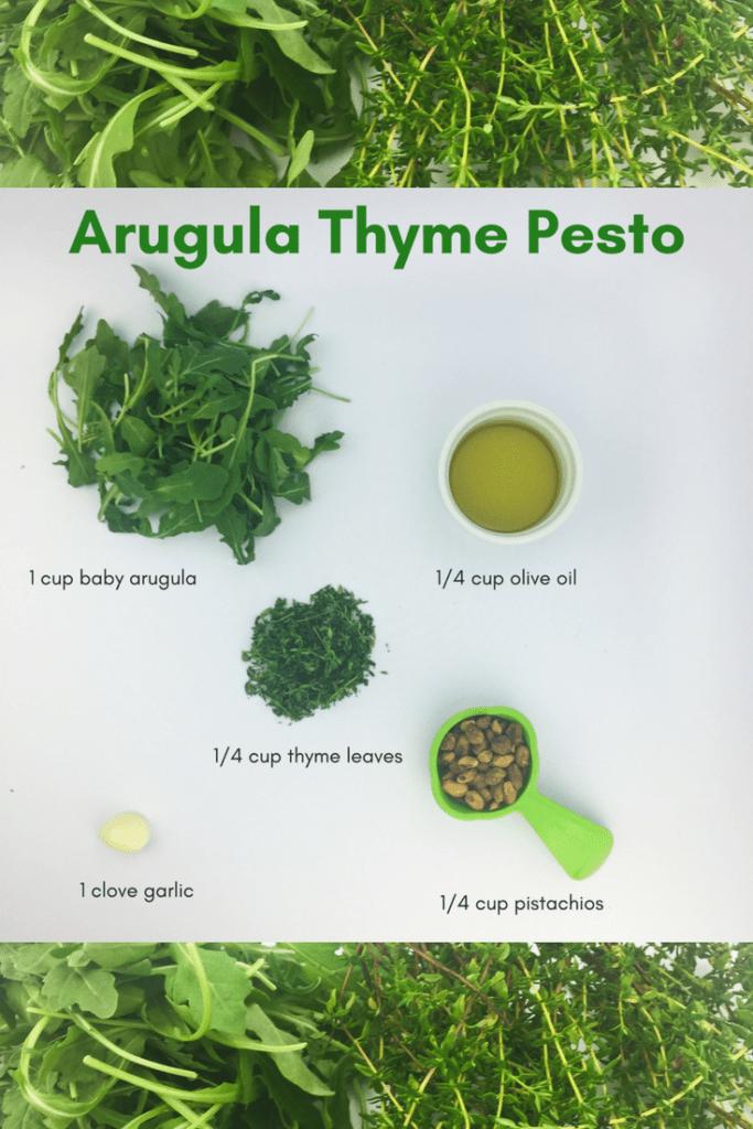 Arugula Thyme Pesto from Lectin Free Mama