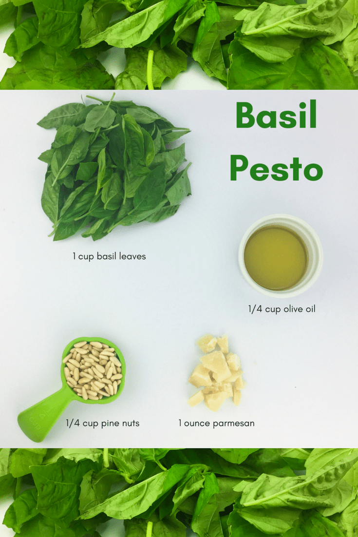 Easy 4-ingredient basil pesto from Lectin Free Mama