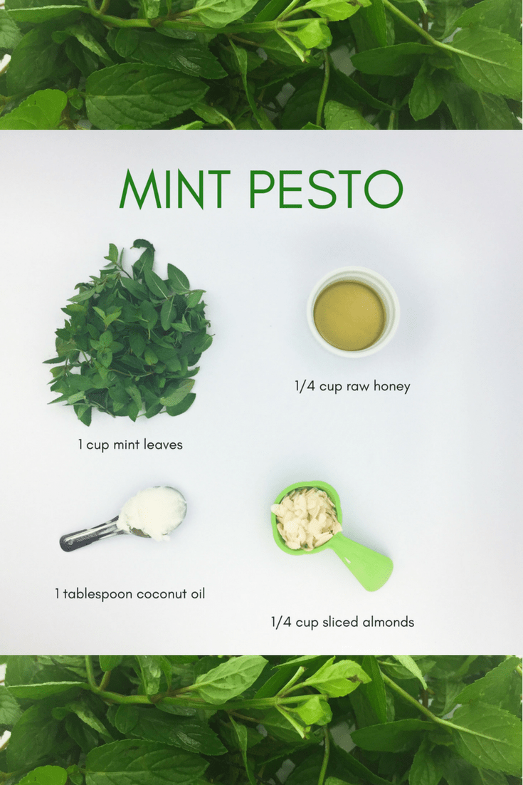 Try this unique dessert mint pesto from Lectin Free Mama.