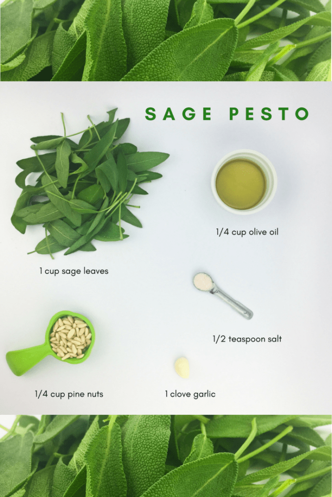 Conjure the taste of Thanksgiving with this sage pesto from Lectin Free Mama