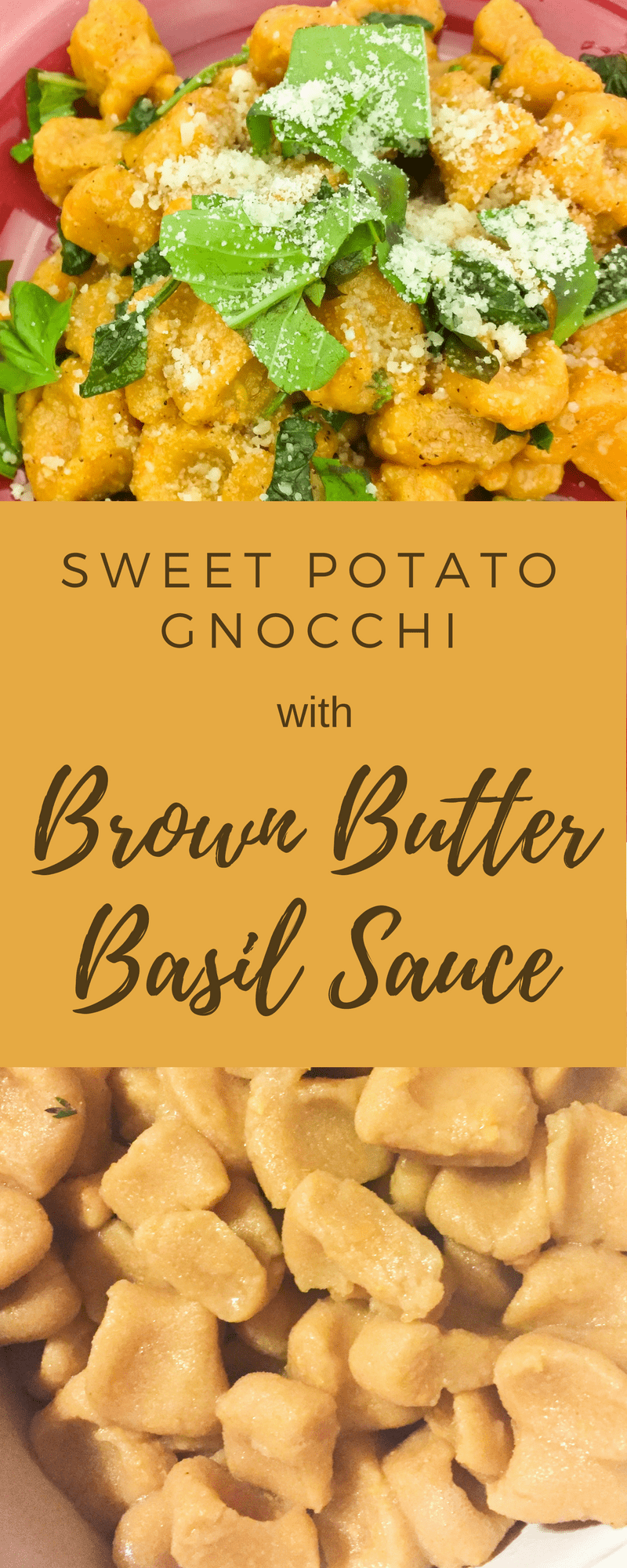 Learn how to make lectin free sweet potato gnocchi with a rich basil brown butter sauce. Perfect for fall family dinners.