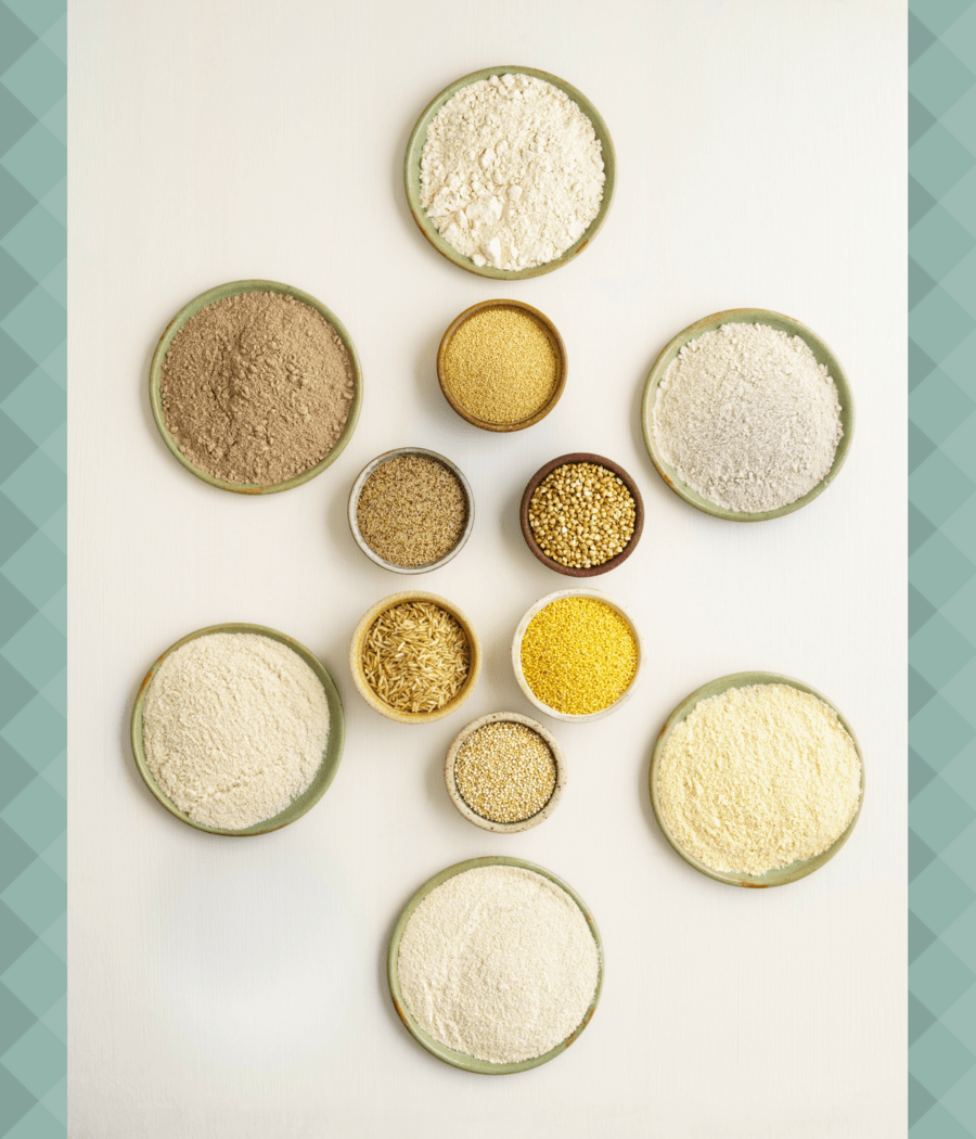 Find out which lectin free flours are the best with Lectin Free Mama's Grain Free Flour Face-Off