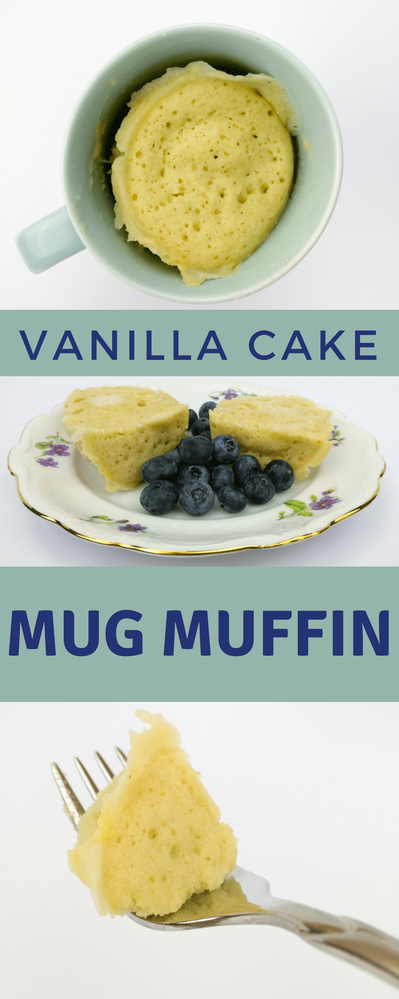 A delicious, lectin free vanilla cake mug muffin from Lectin Free Mama; ready in 2 minutes.