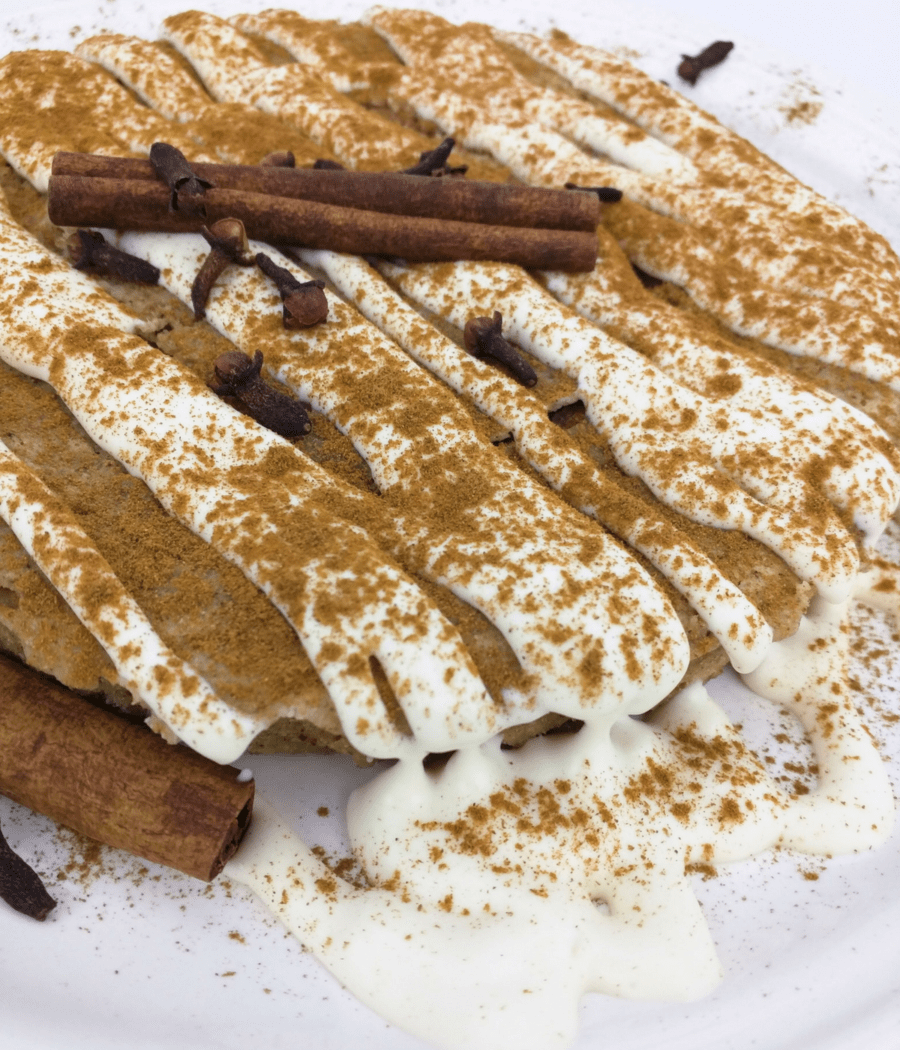 Make a delicious lectin-free ginger sheet cake with cinnamon cream cheese frosting.