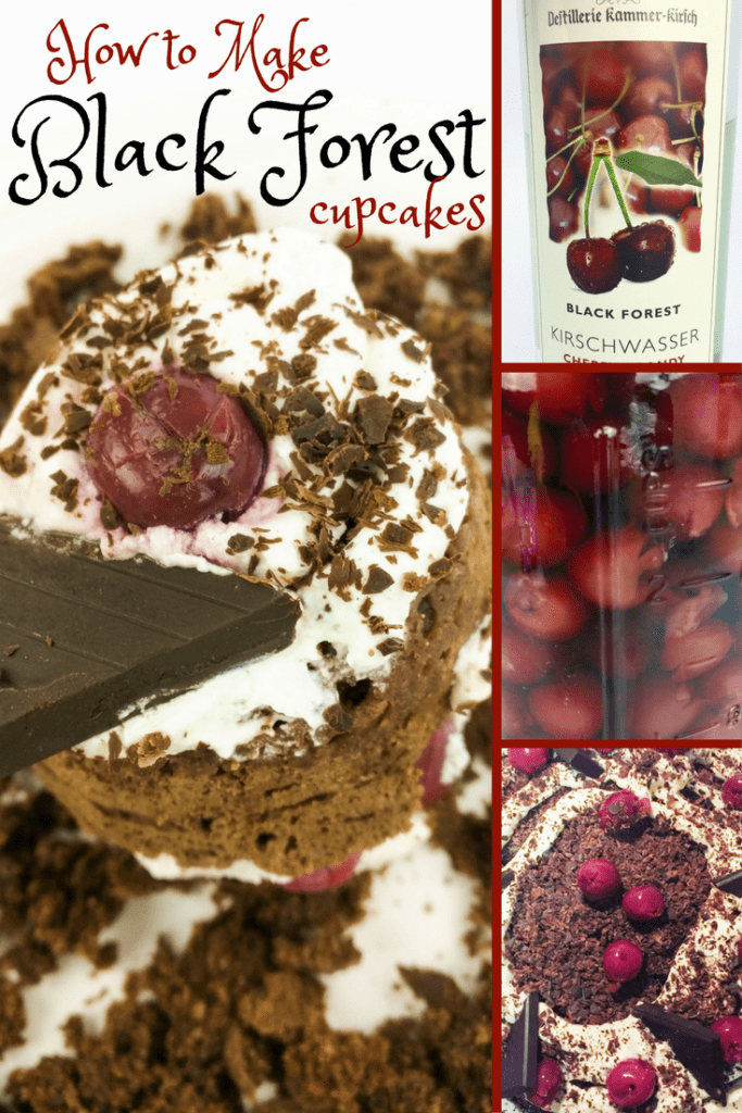 Learn how to make lectin free, sugar free, Plant Paradox compliant black forest cupcakes with kirsch-soaked black cherries, cassava flour, natural cocoa powder, bitter chocolate, and heavy whipping cream.