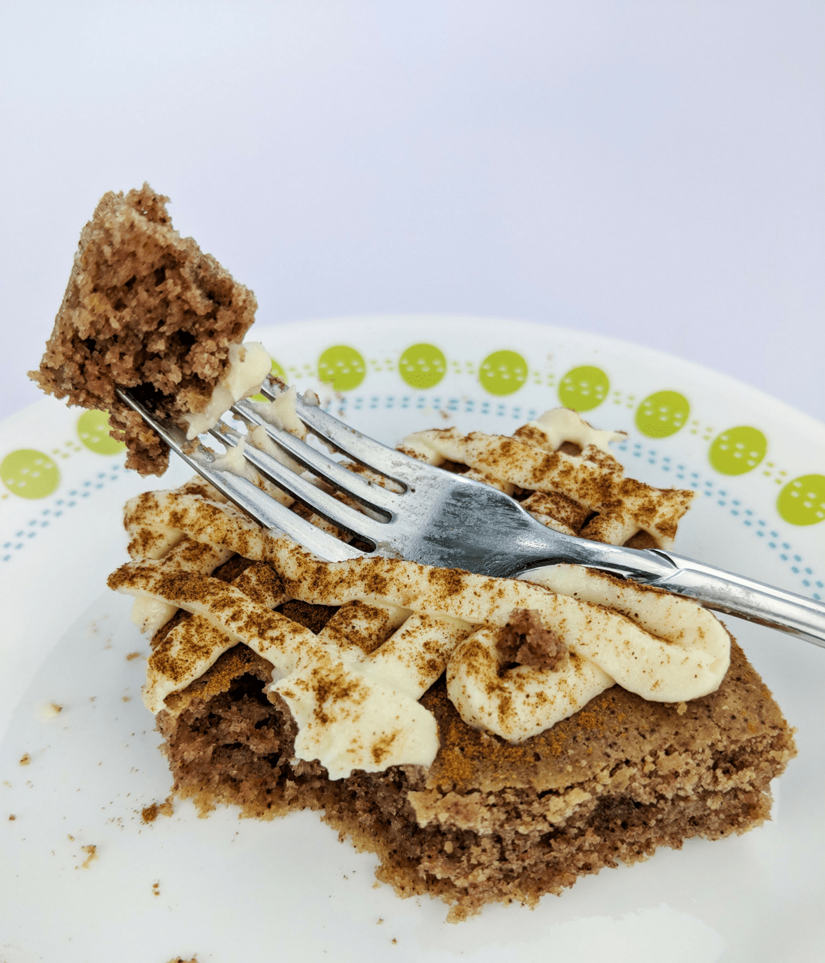 Make a lectin free, gluten free, Plant Paradox approved dessert for your holiday gathering with this sheet pan ginger cake with cinnamon cream cheese frosting.