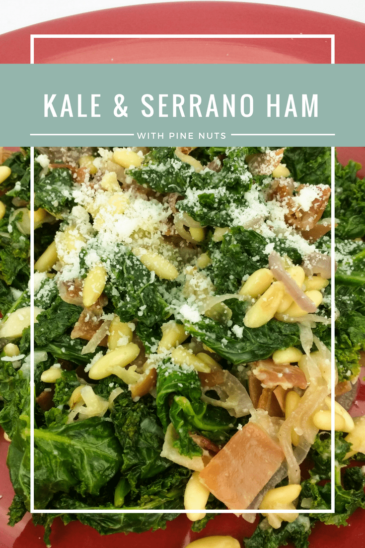 Go green and lectin-free this winter with a kale and serrano ham salad with pine nuts, parmesan, and a lemon oil dressing.