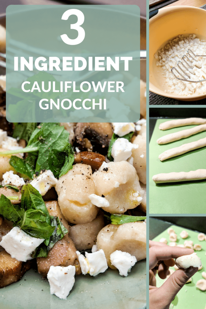 Easy, 3-ingredient cauliflower gnocchi that's lectin-free, grain-free and Plant Paradox approved!