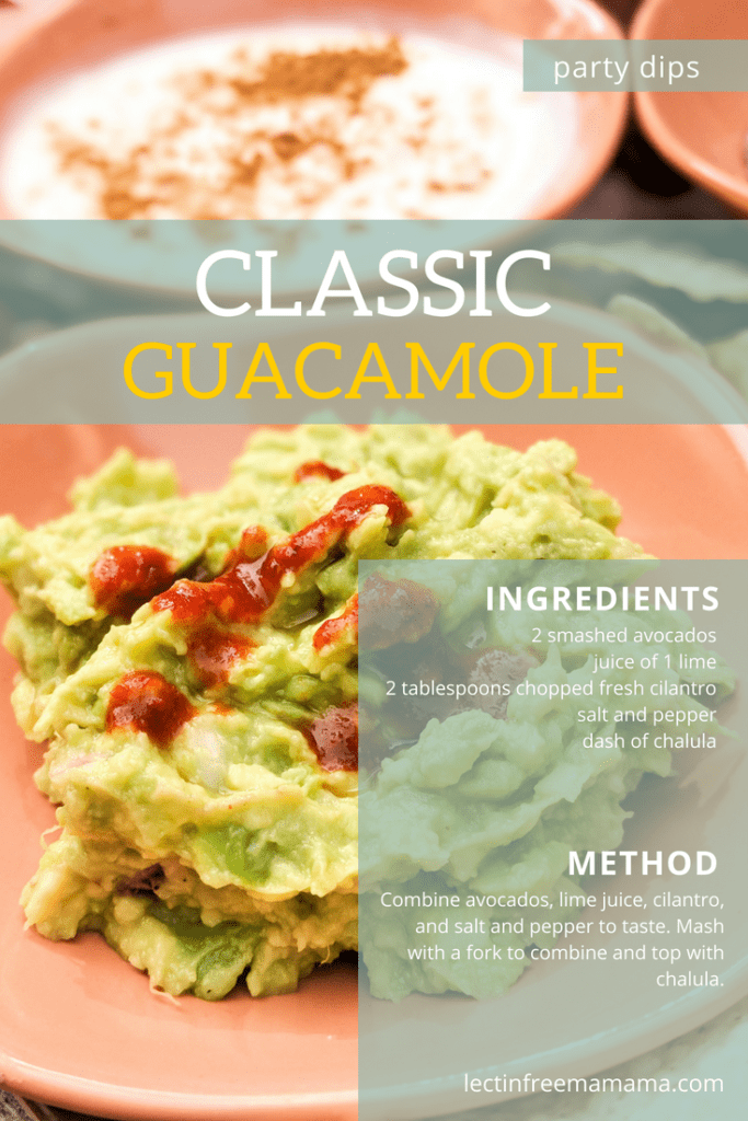 Make the ultimate Plant Paradox party platter with classic guacamole.