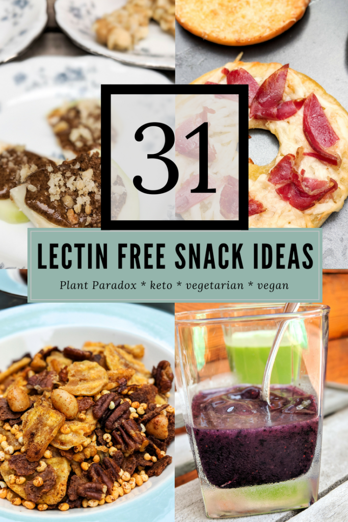 31 lectin-free snack ideas for after school and after work Plant Paradoxers