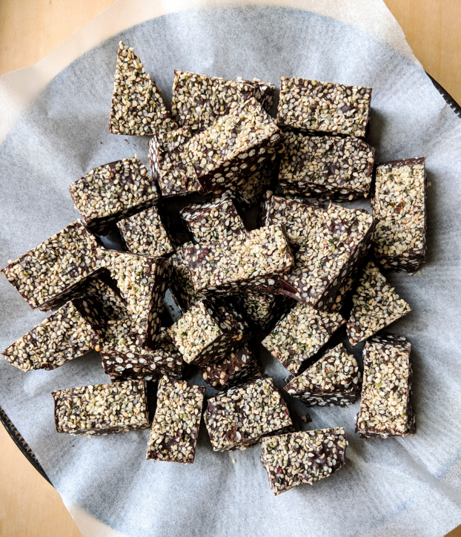 Get a recipe for Plant Paradox compliant dark chocolate energy bars.