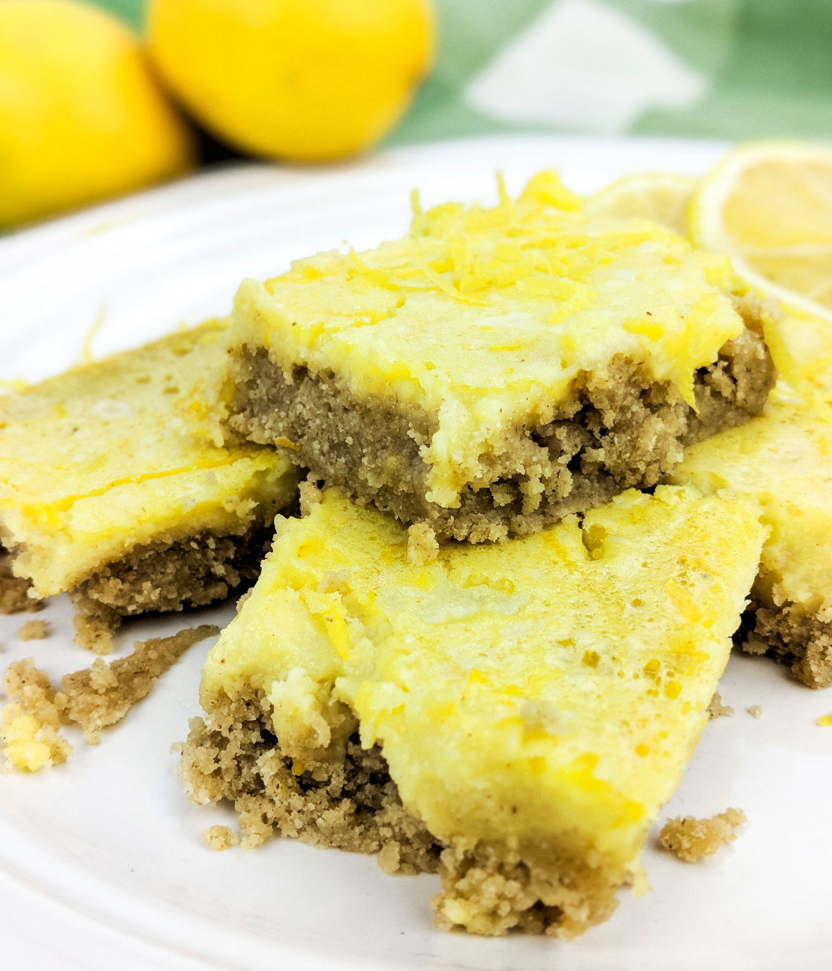 Lemon bars for the Plant Paradox diet--lectin-free and sugar-free.