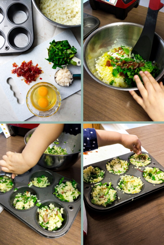 Learn how to make lectin-free spinach and cauliflower breakfast muffins, compliant on the Plant Paradox diet.