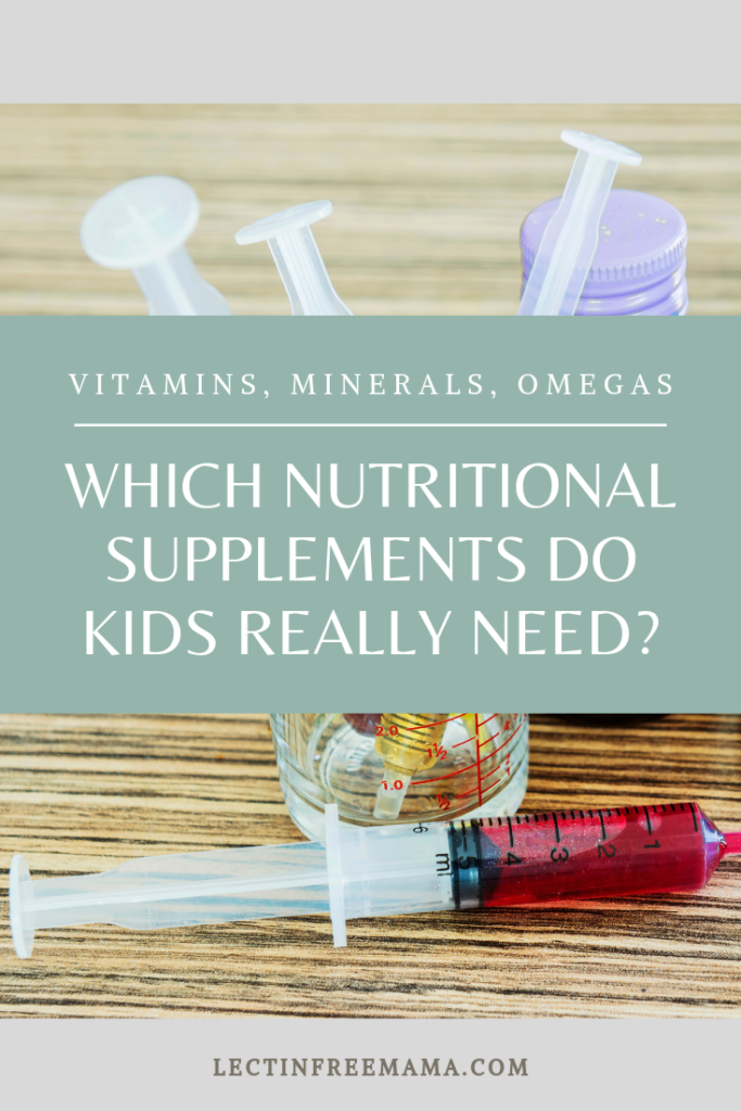 Read about which nutritional supplements kids need in this article about vitamins, minerals, and omegas.